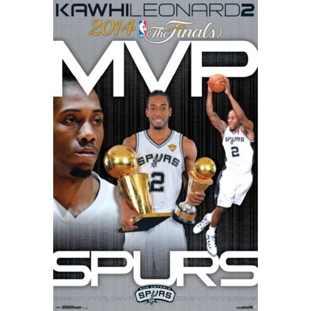 2014 NBA Finals - MVP Poster - (Nba Mvp Coin)