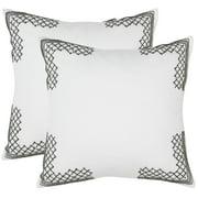 Safavieh Edgy Metals Geometric Pillow, Set of 2