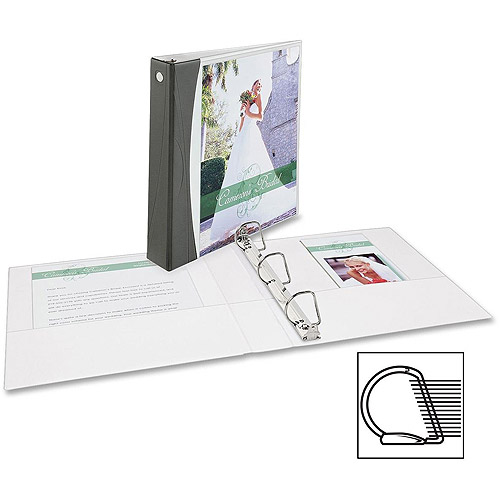 Avery Comfort Touch Color Spine Slant-D VW Binders