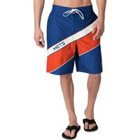 New York Mets G-III Sports by Carl Banks Rookie Swim Trunk - Royal/Orange