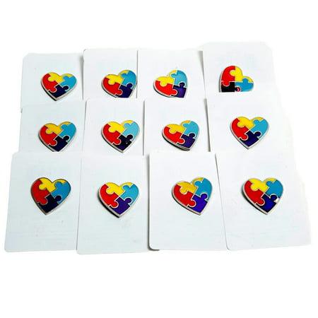 - Autism Awareness Pins