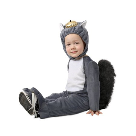 Toddler Squirrel Costume (Toddler Nibbles the Squirrel)
