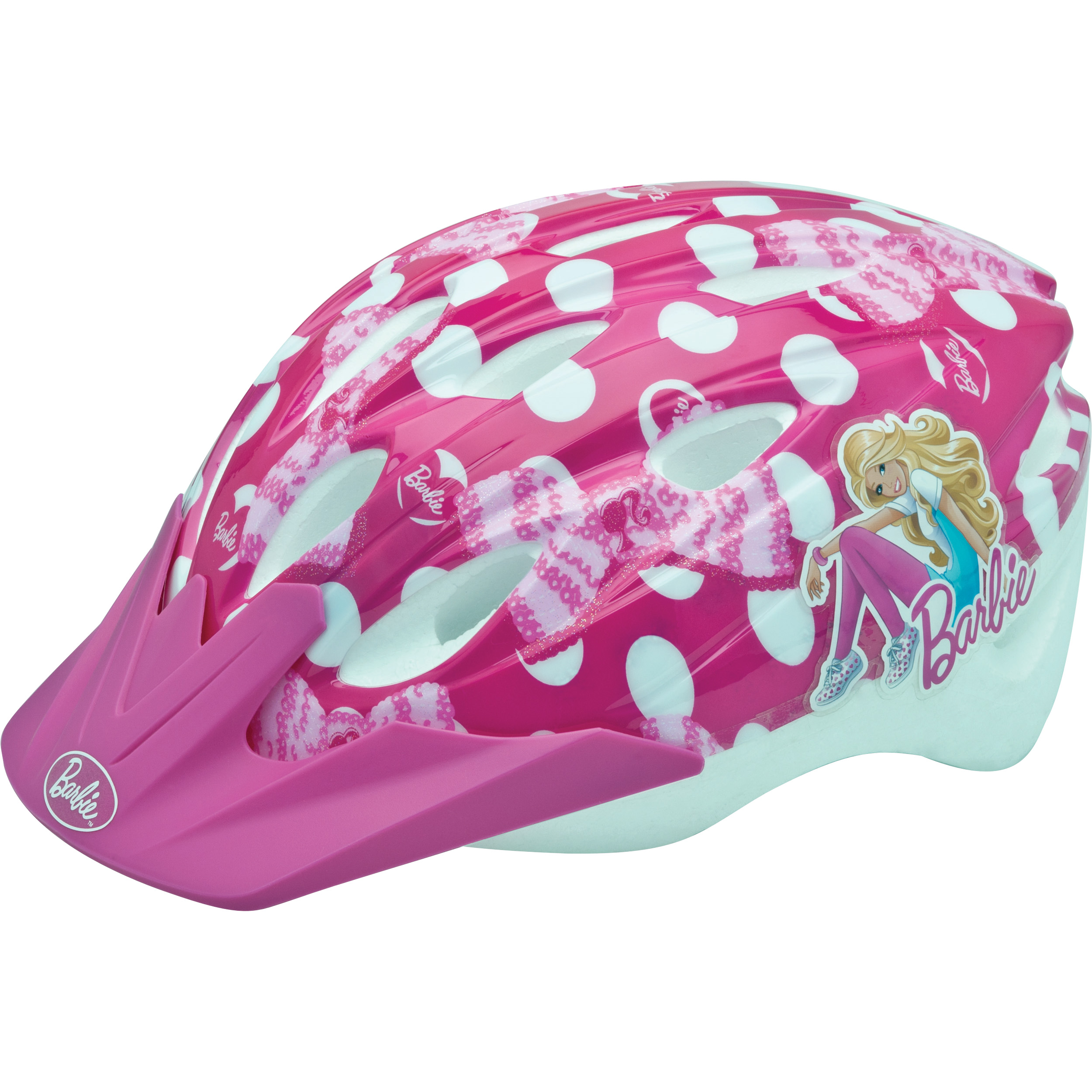 Barbie Pedalin' Pretty Bike Helmet, Child