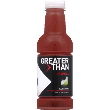 Greater Than Sports Drink  Coconut Water  Tropical