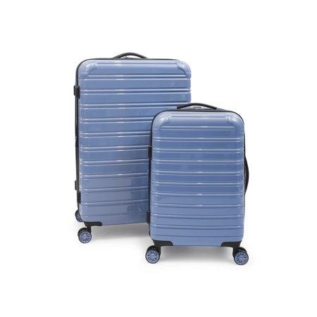 iFLY Hardside Fibertech Luggage, 2 Piece (Cowhide Leather Luggage Set)