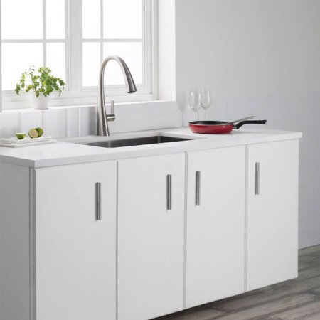 Kraus Nolen Kitchen Sink Faucet w/ Stainless Steel Finish (OPEN BOX) - image 2 de 5