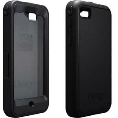 OtterBox Defender Series Case and Holster for BlackBerry Z10 - Retail Packaging - Black (Discontinued by Manufacturer) ()