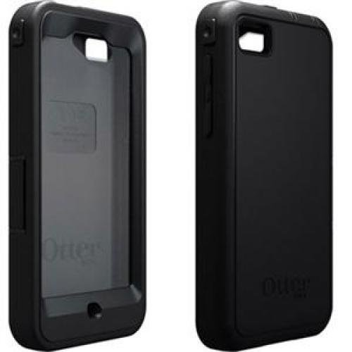OtterBox Defender Series Case and Holster for BlackBerry Z10 - Retail Packaging - Black (Discontinued by Manufacturer)