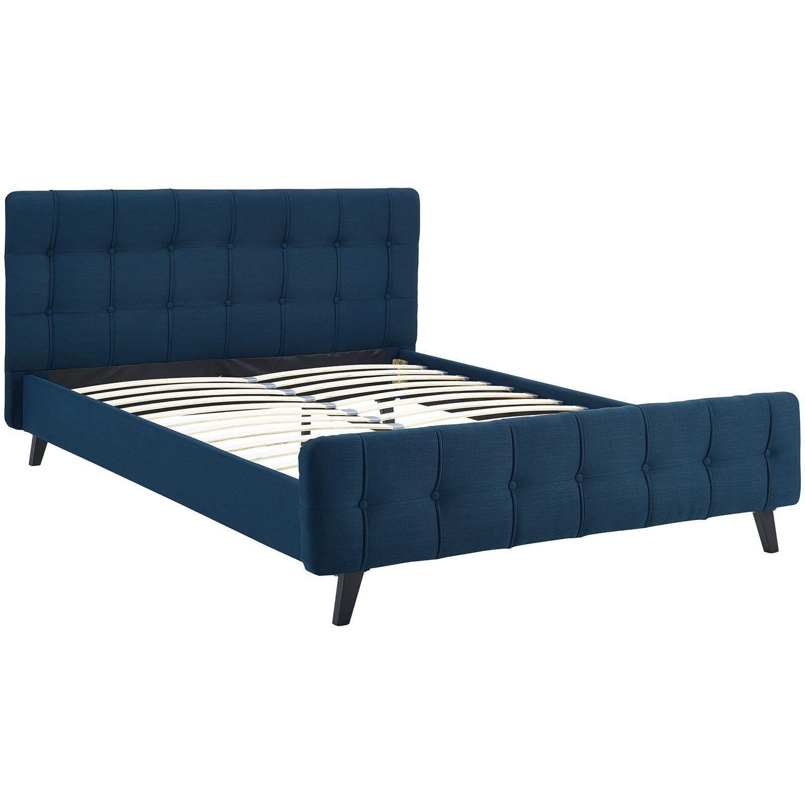 Modway Ophelia Queen Upholstered Platform Bed, Multiple Colors