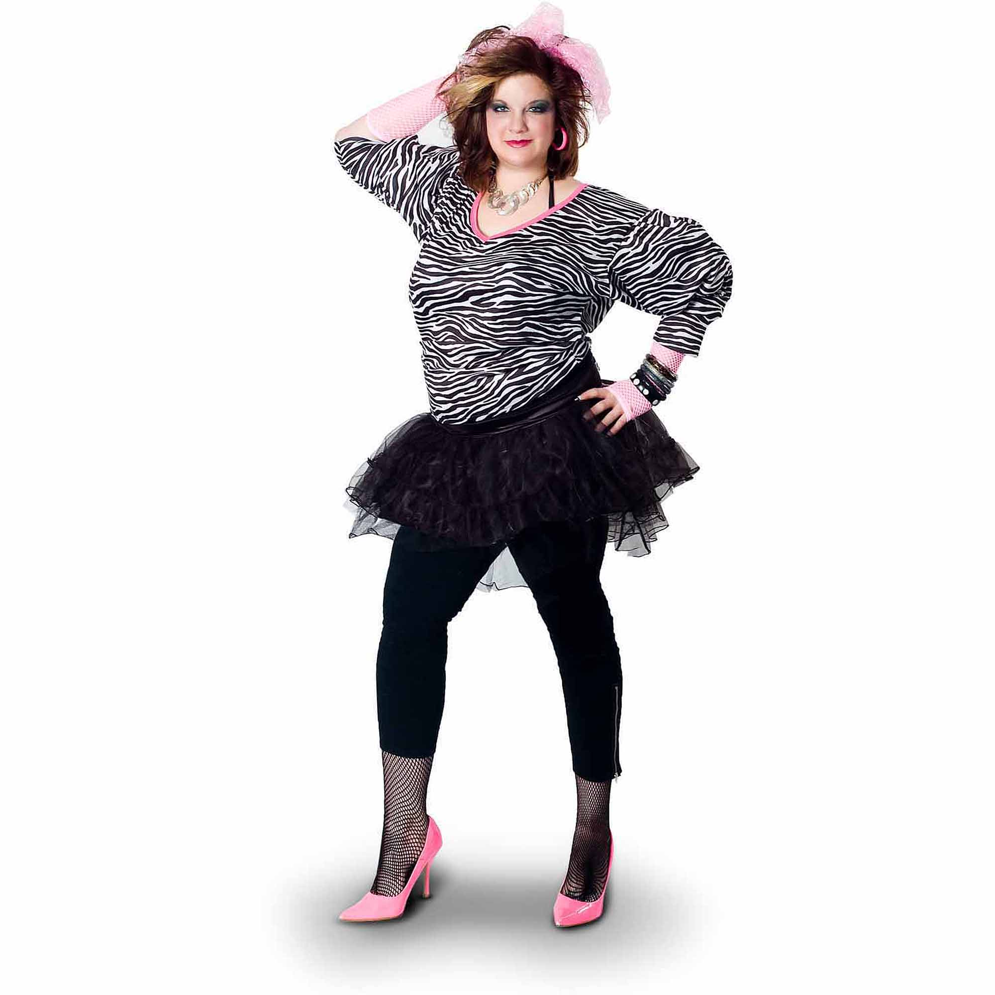 Lava Diva Hip Hop 80u0027s Womenu0027s Plus Size Adult Halloween Costume - Walmart.com  sc 1 st  Walmart & Lava Diva Hip Hop 80u0027s Womenu0027s Plus Size Adult Halloween Costume ...
