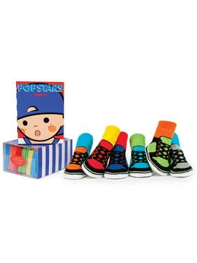 Trumpette Baby Boys Pop Stars Socks, 6-Pack