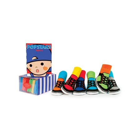 Baby Boys' Pop Stars Socks 6-pack (0-12 mo.) ()