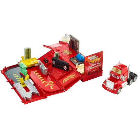 Disney/Pixar Cars Wheel Action Drivers Mack Playset