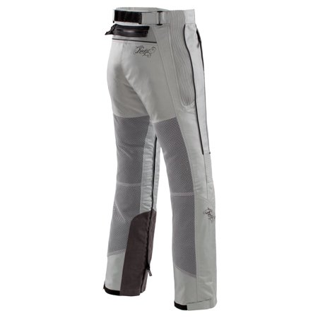 Joe Rocket Cleo Elite Mesh Women's Pant, Silver,