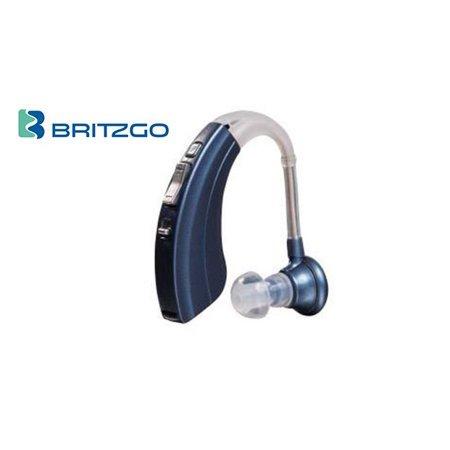 - Britzgo Hearing Aid Amplifier BHA-220, 500hr Battery Life,