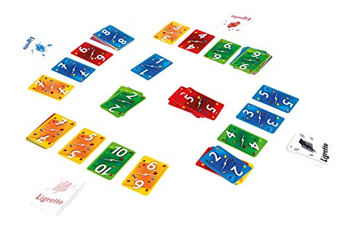 Schmidt 01307 Ligretto Red Edition Card Game