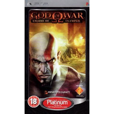 God of War Chains of Olympus PSP Game - PSP