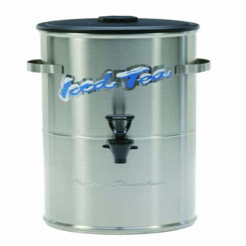 Wilbur Curtis Iced Tea Dispenser 3.0 Gallon Round Tea Dispenser - Designed to Preserve Flavor - TC-3H (Each)