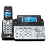 VTech DS6151 Two-Line Expandable Cordless Phone with Answering System and Caller ID