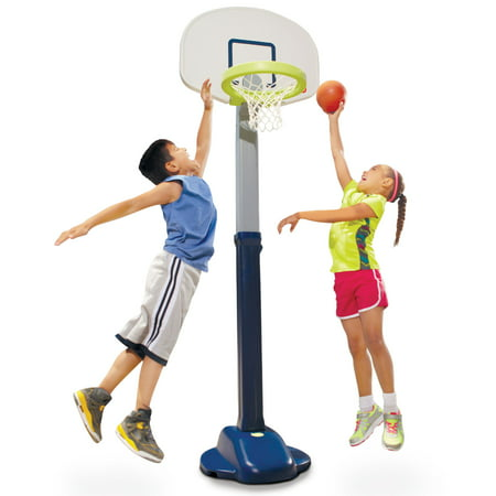 Basketball Hoop For Kids (Little Tikes Adjust 'n Jam Pro Basketball)