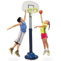 Deals on Little Tikes Adjust n Jam Pro Basketball Set