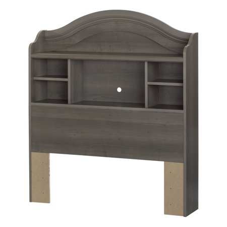 Savannah Bookcase Headboard Twin Ash - South Shore