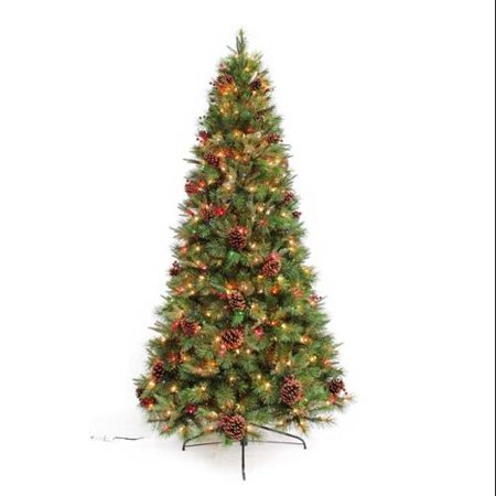 4 5 39 Dorchester Redi Shape Pre Lit Christmas Tree With 6