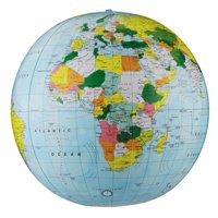 27' Light Blue Political Inflatable Globe (Map)