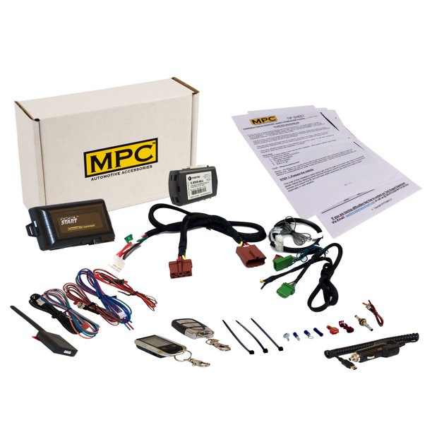 2-Way LCD Remote Start Keyless Entry Kit For 2007-2010