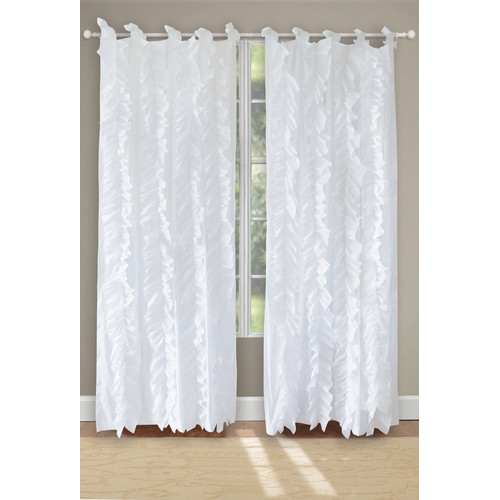 Greenland Home Fashions Waterfall Curtain Panel (Set of 2)