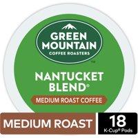 Green Mountain Coffee Nantucket Blend, Keurig K-Cup Pod, Medium Roast, 18 Ct