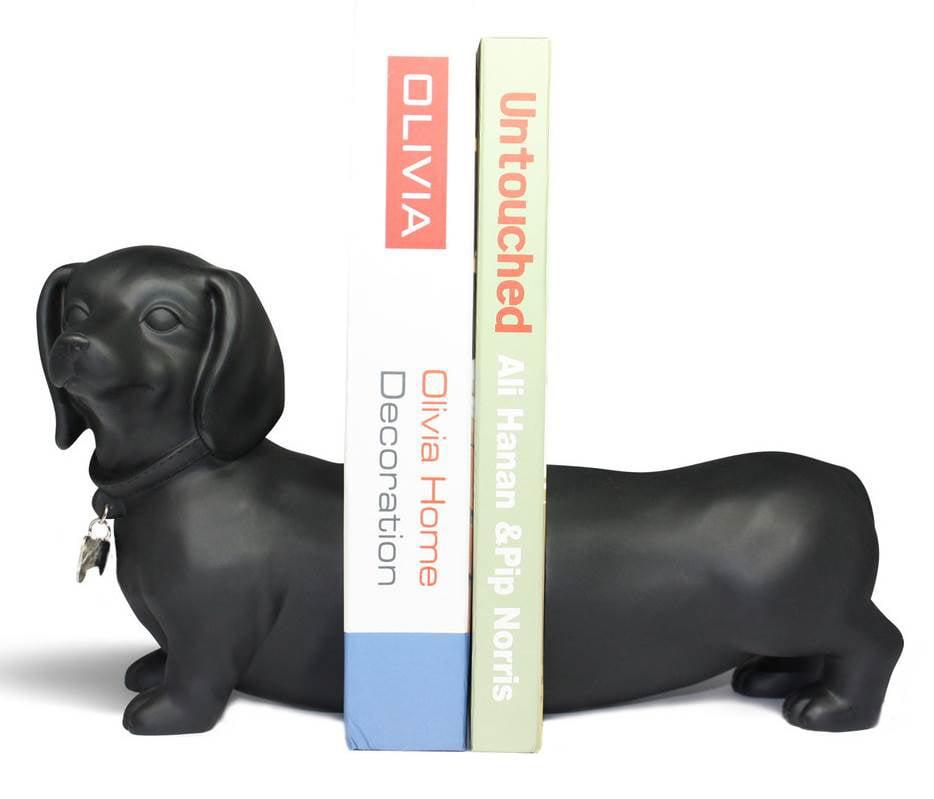 Danya B Dachshund Dog Bookend Set of 2 by Danya B