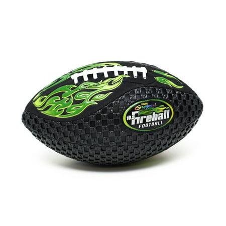 Fun Gripper Fireball 10.5 Football Neon Green By: Saturnian 1](Football In The Dark)