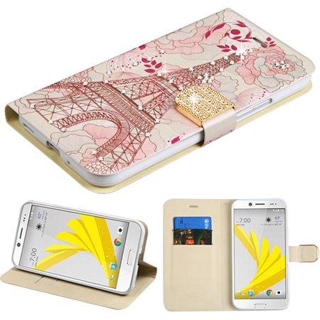 MYBAT Eiffel Tower Diamante MyJacket Wallet(w/ Diamante Belt)(DM104) for