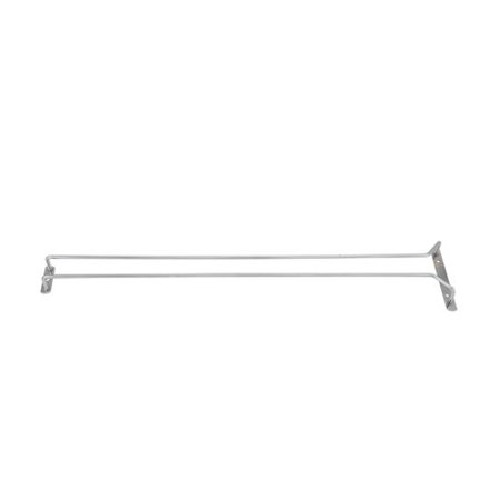 Chrome Stemware - GHC-24, 24-Inch Chrome Plated Wire Glass Hanger Rack, Single Channel Bar Glass Holder, Stemware Rack, The ultimate tool for every professional.., By Winco