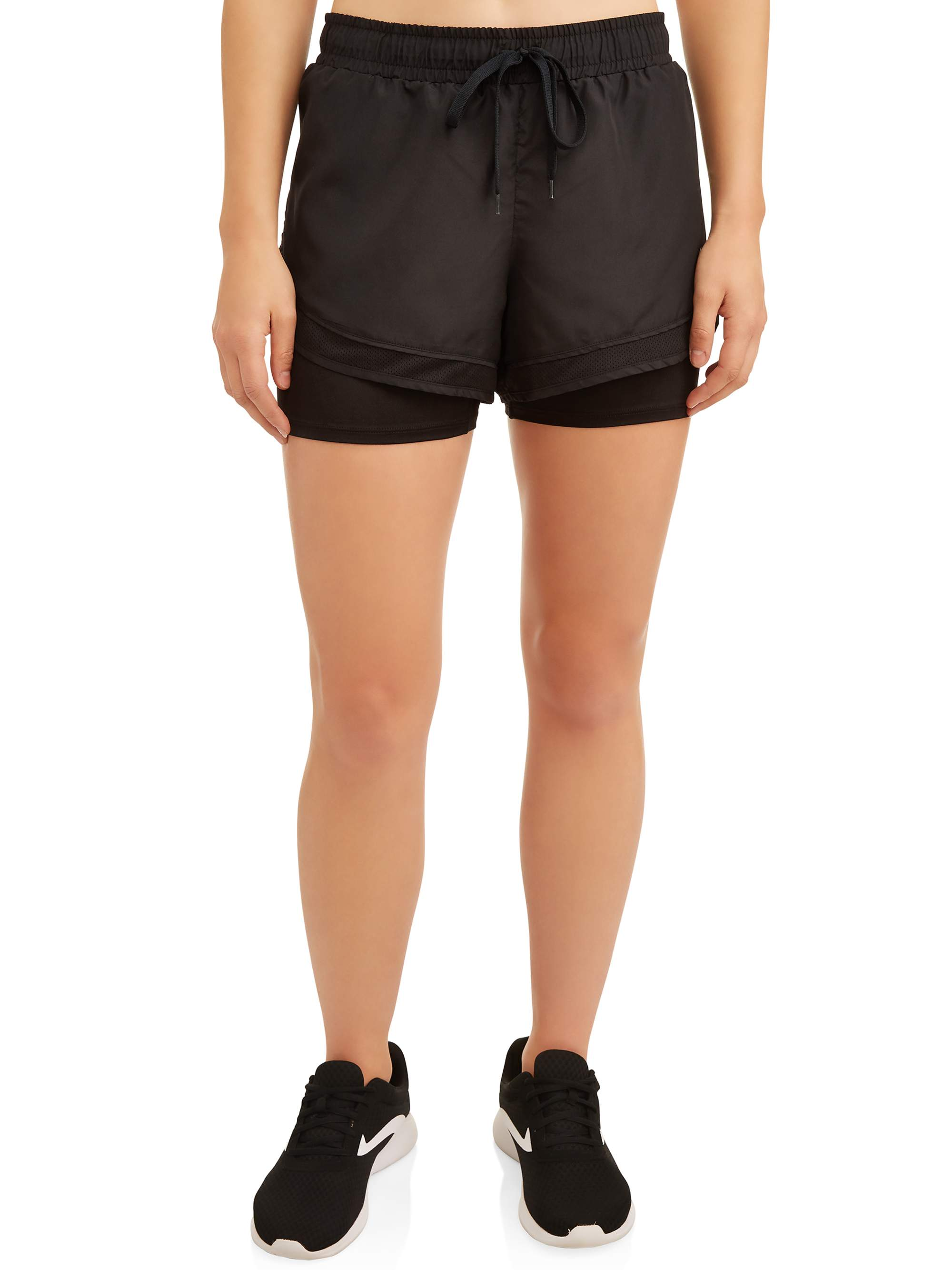 Women's Active MICROFIBER W/INNER BIKE SHORT