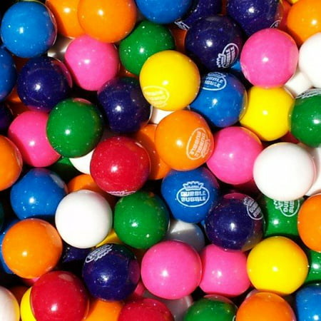 Gum Balls (BAYSIDE CANDY GUMBALLS ASSORTED 25mm or 1 inch ,)