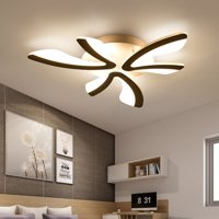 3 Heads Modern Acrylic LED Ceiling Light Pendant Lamp Chandelier Minimalist Art Lighting Fixture Living Room Bedroom Kitchen Home Restaurant