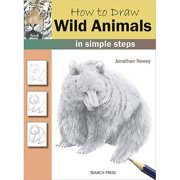 Search Press Books-How To Draw Wild Animals, Pk 1, Search Press
