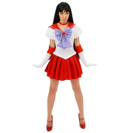Sailor Moon Mars Sexy Adult - Secy Sailor Costume