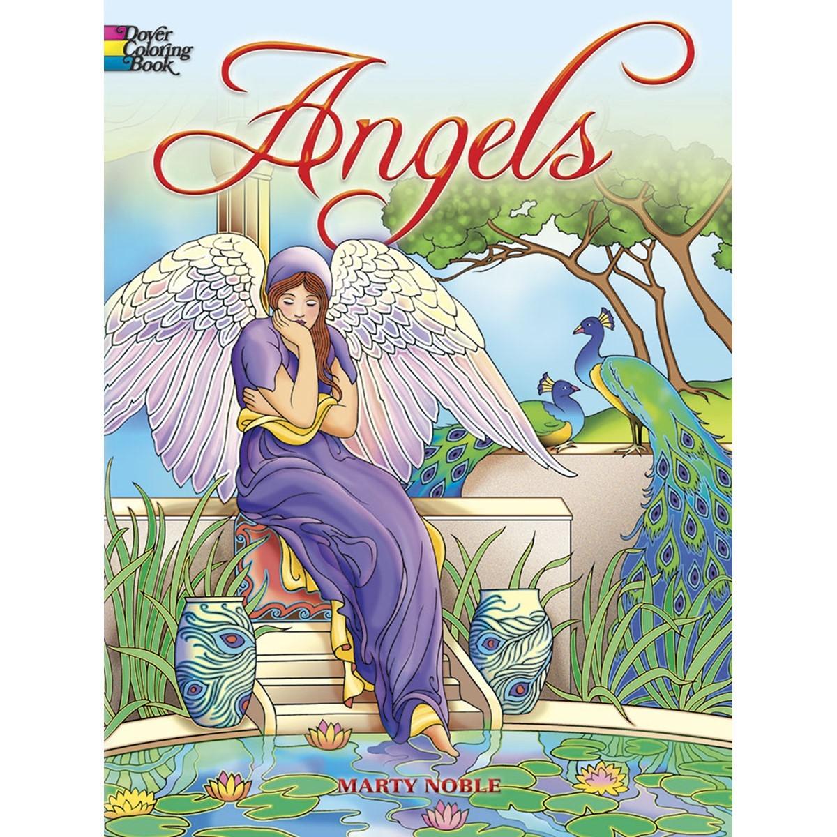 - Dover Publications, Angels Coloring Book - Walmart.com - Walmart.com