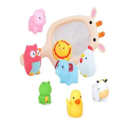 OkrayDirect Baby Bath Water Toy Rubber Duck Beach Toy Girl Boy Child Bath](Duck Beach)