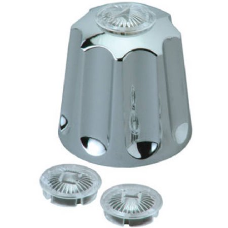 Brass Craft Service Parts SH4576 Gerber 3 Valve Tub & Shower Chrome Finish Faucet Handle Brass Craft Service Parts