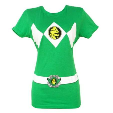 Power Rangers Green Ranger Costume Symbol Green Junior - Green Rpm Ranger
