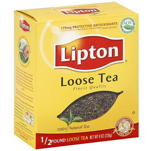 Lipton Loose Tea, 8 oz (Pack of 6)