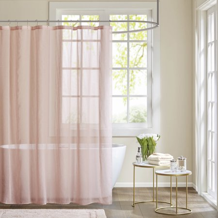 Home Essence Angie Sheer Shower Curtain