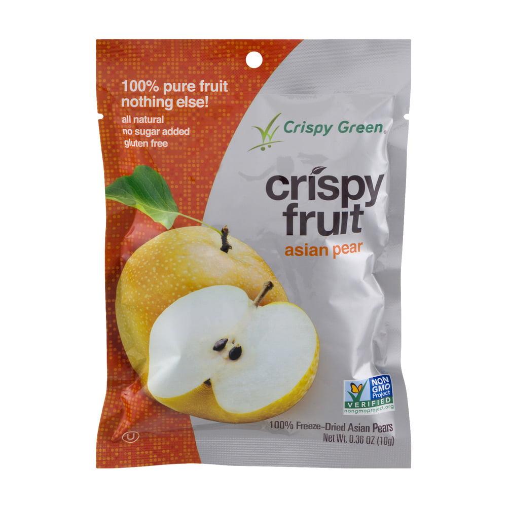 Crispy Green Crispy Fruit Freeze-Dried Asian Pear, 0.36 OZ