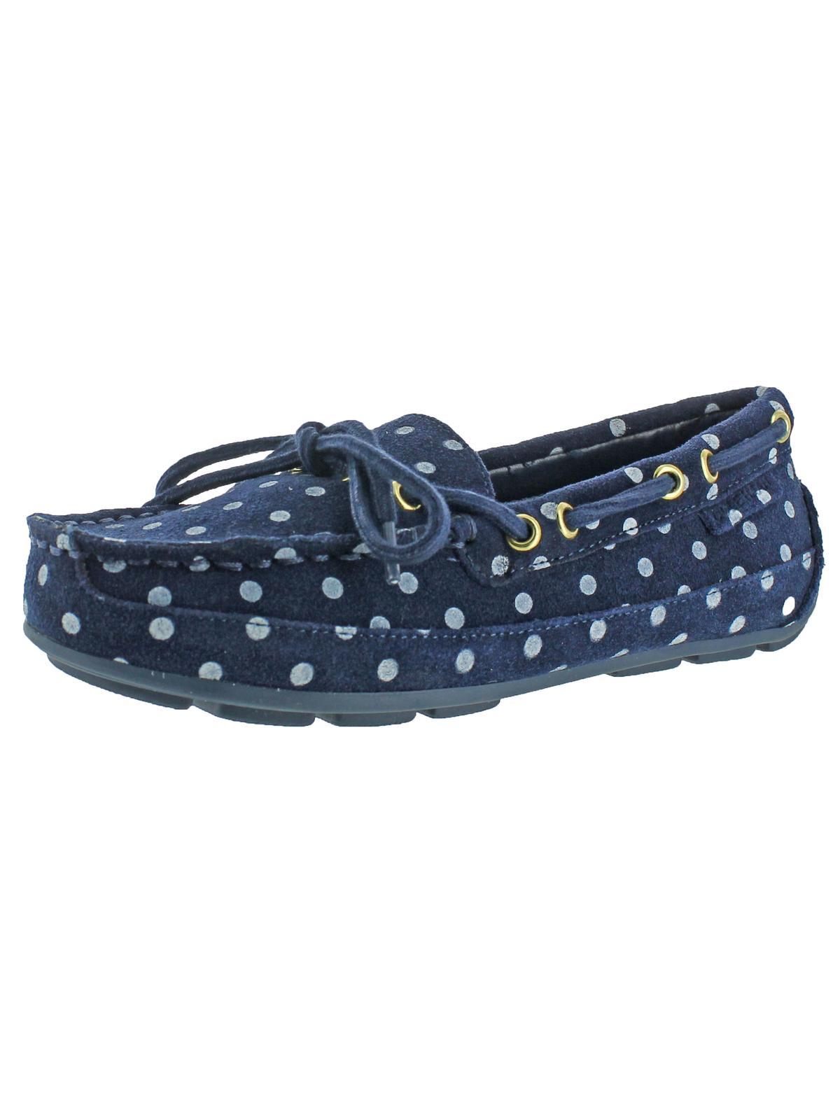 ee958ef3d70b9c Cole Haan - Cole Haan Girls Grant Driver Boat Shoes Loafer Driving Moccasins  - Walmart.com