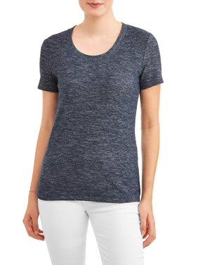 75888696f25a5 Product Image Women s Short Sleeve Textured Crewneck T-Shirt