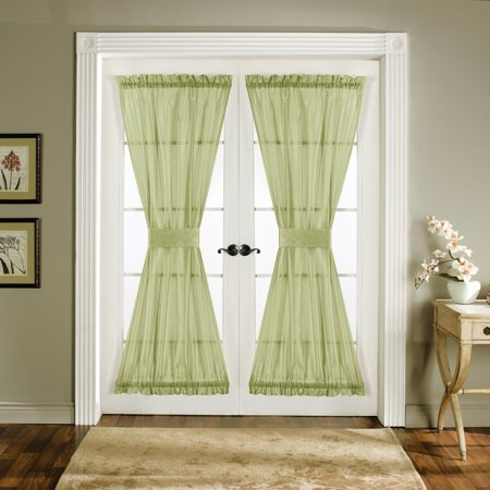 Lush Decor Sonora Door Curtains One Pair Of Panels With